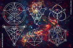 100 Sacred Geometry Symbols - Illustrations - 7