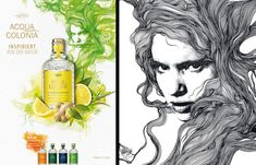 Gabriel Moreno was commissioned to create a series of images for use in posters and ads to promote No 4711's Acqua Colonia spirits Gabriel Moreno is represented by Debut Art Facebook Twitter Google+ Pinterest LinkedIn Tumblr