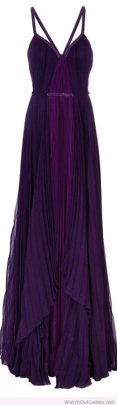 Cool purple gown  watchoutladies.net