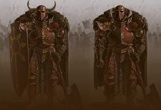 Khorne Warriors #Warhammer #fanart