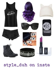 """""""5SOS"""" by girlsosassy ❤ liked on Polyvore featuring Abercrombie & Fitch, Topshop and Chanel"""