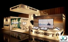 Rosneft - 3d Exhibition design - UAE, Dubai. on Behance