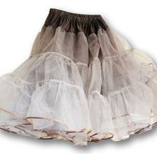 how to make a crinoline  This is what my Mom made in the 1950's to go under my big poodle shirts.
