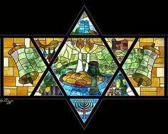 Love these Shabbat Shalom artwork!