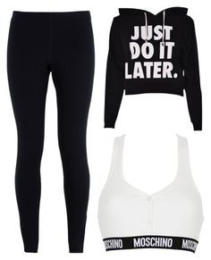 """Untitled #155"" by mylifeasmyaaa1 on Polyvore featuring NIKE and Moschino"