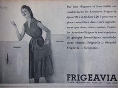 0 brigitte bardot posing for frigeavia fridge ad 1954