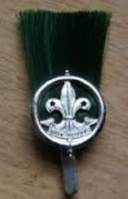 Scout Masters hat Plume pre 1966