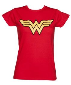 Mesdames Red Wonder Woman T Shirt De Logo TruffleShuffle http://www.amazon.fr/dp/B00HFKT6LM/ref=cm_sw_r_pi_dp_i6EFvb0GV1NJG