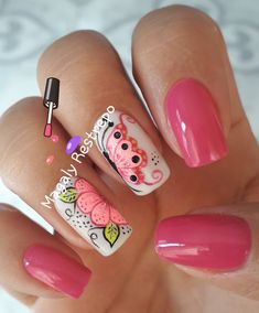 ❤💅🏼❤ Coffin Nails, Acrylic Nails, Lee Nails, Finger, Manicure, Super Cute Nails, Nail Shop, Spring Nails, Nail Art Designs