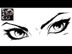 How to Draw Comics - Woman's Eyes - Tutorial - Sketchbook Pro Video. For more drawing videos check out http://www.youtube.com/user/mrramstudios1
