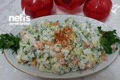 Karnabahar Salatası (Patates Ve Havuçlu)