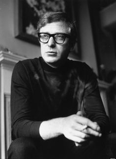 Michael Caine and the turtleneck