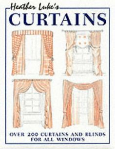 There are sketches of every type of classic and #contemporary window dressing, as well as ideas for combining treatments, such as curtains with blinds or using up to three layers of curtains. A final section gives facts and figures on planning and measuring fabric.