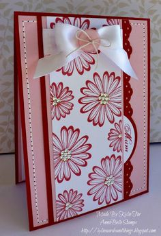 Kylie's Cards and Things: AnnaBelle Stamps 'Say It With...Stitching'