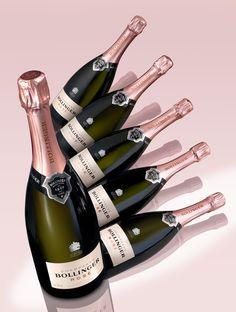 Bollinger Rosé #pink champagne
