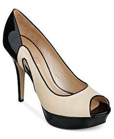 Marc Fisher Shoes, Tumble Platform Pumps - Shoes - Macy's