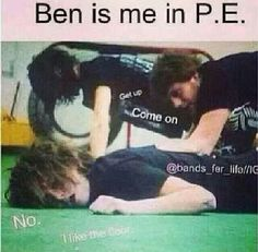 This really is me... <3 :) GO BEN!