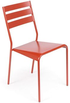 $772 Fermob Facto Stacking Chair, Set of 2 from French Bistro Furniture
