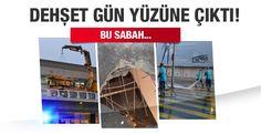 Atatürk Havalimanında yaşanan terör saldırısının şiddeti gün ağarınca ortaya çıktı.