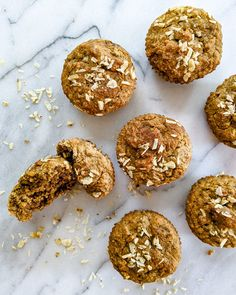 Banana Maple Tigernut Muffins (Top 8 Free & Coconut-Free) | The Open Cookbook Muffin Top, Allergies, Muffins, Paleo, Coconut, Banana, Treats, Sweet, Desserts