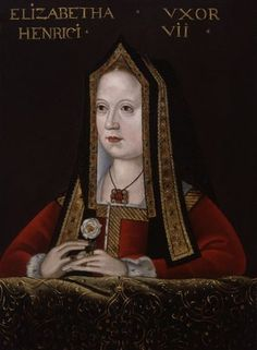 Elizabeth of York Queen of England. Daughter of Edward IV, and Elizabeth Woodville. Wife of King Henry Tudor VII. Mother to King Henry Tudor VIII. Grandmother to Queen Elizabeth of England. Anne Neville, Anne Boleyn, Tudor History, British History, Art History, Rey Enrique Viii, Dinastia Tudor, Royal Families, Renaissance