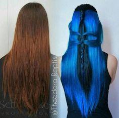 Blue transformation