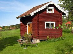 winziges ferienhaus in dalarna (siljan lake)