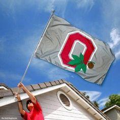 Ohio State OSU Buckeyes University Large College Flag : Amazon.com : Sports & Outdoors