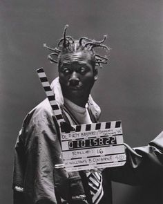 """hiphopphotomuseum:  Ol' Dirty Bastard on the set of the """"Shimmy Shimmy Ya"""" video in 1995.  Photography by Al Pereira."""