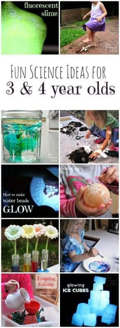 Loads of fun science activities and ideas for 3 and 4 year olds from Go Science Girls. girl Fun Science Ideas for Year Olds - Go Science Girls The Effective Pictures We Offer You About Mo 4 Year Old Activities, Preschool Science Activities, Science Experiments Kids, Preschool Learning, Science For Kids, Learning Activities, Preschool Activities, Science Ideas, Teaching