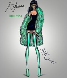 Rihanna performing BBHMM at the iHeart Awards by Hayden Williams