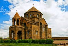 Saint Hripsime Church is one of the oldest surviving churches in Armenia. The church was erected by Catholicos Komitas atop the original mausoleum built by Catholicos Sahak the Great in 395 AD that contained the remains of the martyred Saint Hripsimé to whom the church was dedicated. The structure was completed in 618 AD. It is known for its fine Armenian-style architecture of the classical period, which has influenced many other Armenian churches since. (UNESCO World Heritage Site)