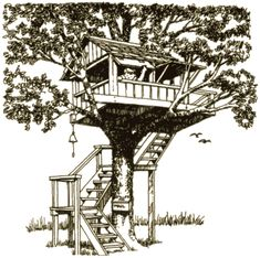 Kids Tree House Plans Designs Free build a backyard treehouse with these free plans: a-frame
