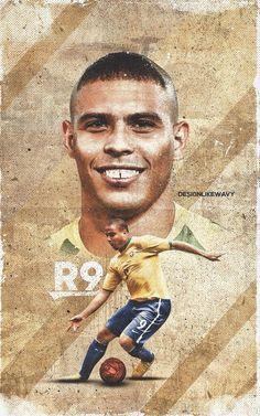 R9 Brazil Players, Brazil Football Team, Best Football Players, Football Art, Arsenal Football, World Football, Soccer Players, Barcelona E Real Madrid, Barcelona Soccer