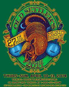 Shweiki Sponsors Old Settler's Music Festival #shweikimedia #Old Settler's Music Festival #austin