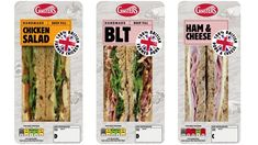 sandwich packaging - Google zoeken Sandwich Packaging, Chicken Ham, Cheese Salad, Asparagus, Sandwiches, Pork, Vegetables, Google, Handmade