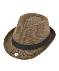 Brown Fedora Hat available in Sm/Med & Large/XL | Shop this product here: spree.to/a6hf | Shop all of our products at http://spreesy.com/SpringzzEternal    | Pinterest selling powered by Spreesy.com