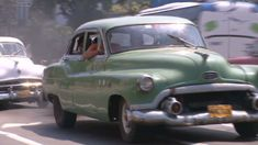 They rumble down city boulevards and country roads across Cuba: 1950s Fords, Buicks and Pontiacs, some in mint condition, others on the verge of collapse