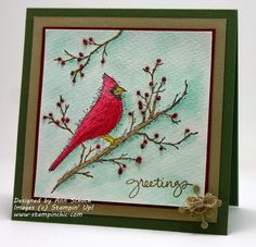 Card by Ann Schach  (082814)  [Stampin' Up! (dies) Snowflake Card Thinlits; (stamps) Beauty of the Season, Endless Wishes]