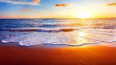 Coast Nature Shore Sunshine Sky Ocean Sun Sunrise Beach Sunset Sunlight Evening Waves Clouds Sand Sea Water Summer Iphone 5 Wallpaper Tumblr