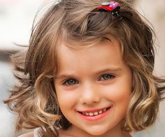 Short Haircuts for Little Girls with Curly Hair