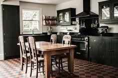 Best Flooring For Kitchen, Wood Floor Kitchen, Kitchen Units, New Kitchen, Kitchen Decor, Kitchen Ideas, Kitchen Furniture, Basement Kitchen, Brown Furniture