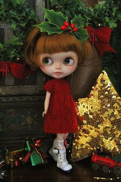 Blythe Christmas Glamour | Flickr - Photo Sharing!: