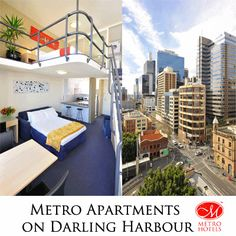Serviced Apartment Accommodation Overlooking the Beautiful Darling Harbour Precinct