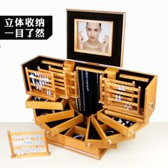 Find More Storage Boxes & Bins Information about storage box Ultra large jewelry box real wooden European Princess high end jewelry Boxes  incorporating wedding gifts,High Quality gifts black,China ring stock Suppliers, Cheap ring keyring from Commodity wholesale 2 on Aliexpress.com