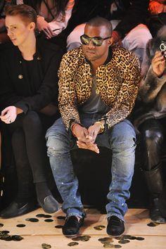 Kanye style.