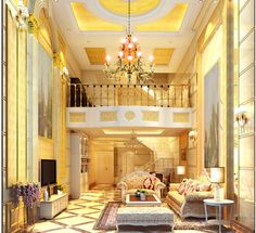 luxurious reading room | european luxury living room ideas for villa luxury living room