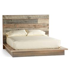 Pacifica Barnwood Collection  Rustic yet soothing in mellowed shades of gray and white, reclaimed pine barn siding is vertically worked into simple, soulful furnishings for the bedroom and beyond. Platform bed in three sizes. Made in USA exclusively for Sundance.