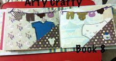 Baby scrapbook  For more stuff please visit https://www.facebook.com/Artycraftee