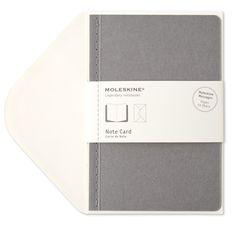 note cards by moleskin